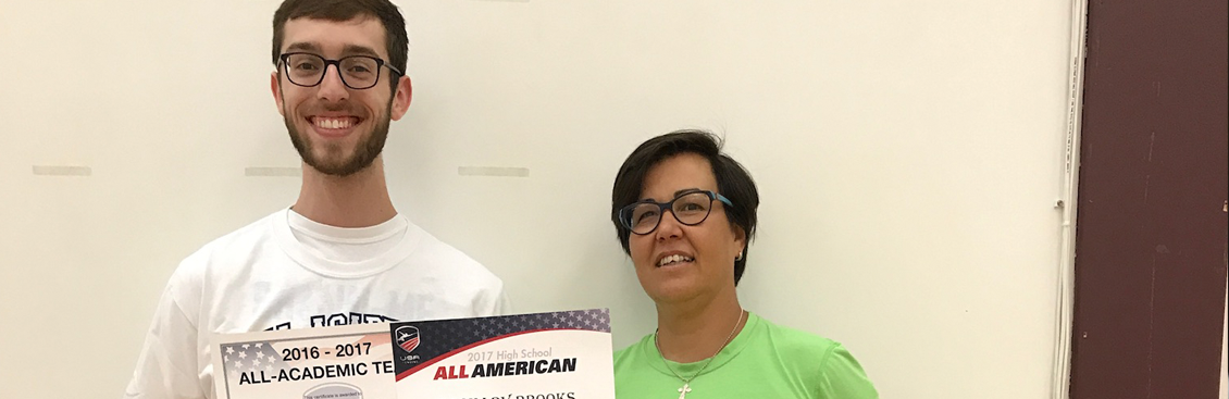 Heartland Fencing Academy Zack Brooks- All American & All-Academic Team Epee